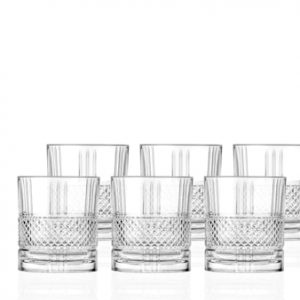Whiskyglass Brillante 34 cl 6-pack