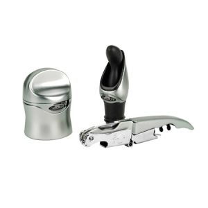 Zippity Wine Tool Kit – Sølv