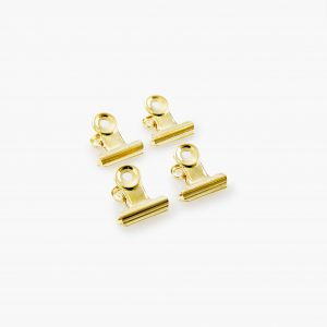 KAILA Poster Clip Gold 20 mm - 4-p