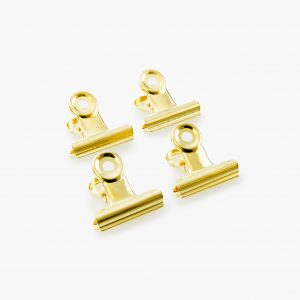 KAILA Poster Clip Gold 30 mm - 4-p
