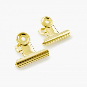KAILA Poster Clip Gold 50 mm - 2-p