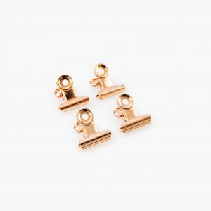 KAILA Poster Clip Rose Gold 20 mm - 4-p