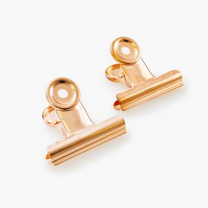 KAILA Poster Clip Rose Gold 50 mm - 2-p