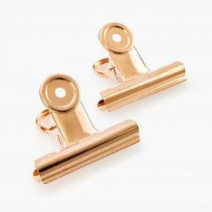 KAILA Poster Clip Rose Gold 65 mm - 2-p