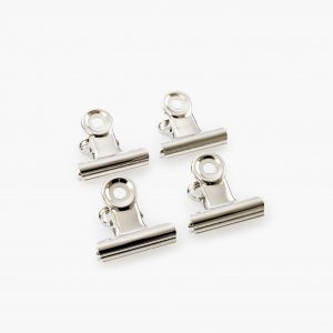 KAILA Poster Clip Silver 30 mm - 4-p